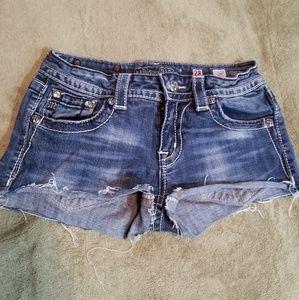 Miss Me cutoff Jean shorts